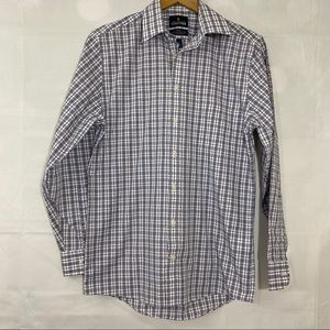 Stafford Button Front Long Sleeve Shirt